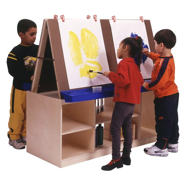 Marker Tray Flipchart Easel by Angeles