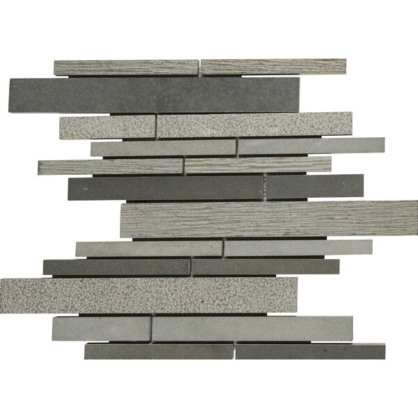 Mystic Random Sized Basalt Mosaic Tile in Gray by MSI