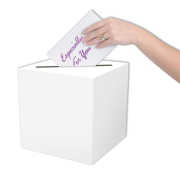 All-Purpose Card Box by The Beistle Company