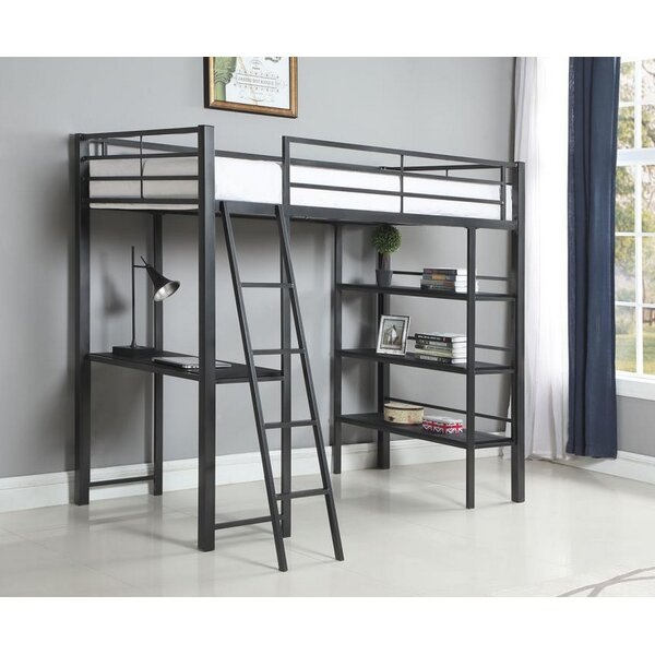 Sessoms Twin Workstation Loft Bed by Harriet Bee