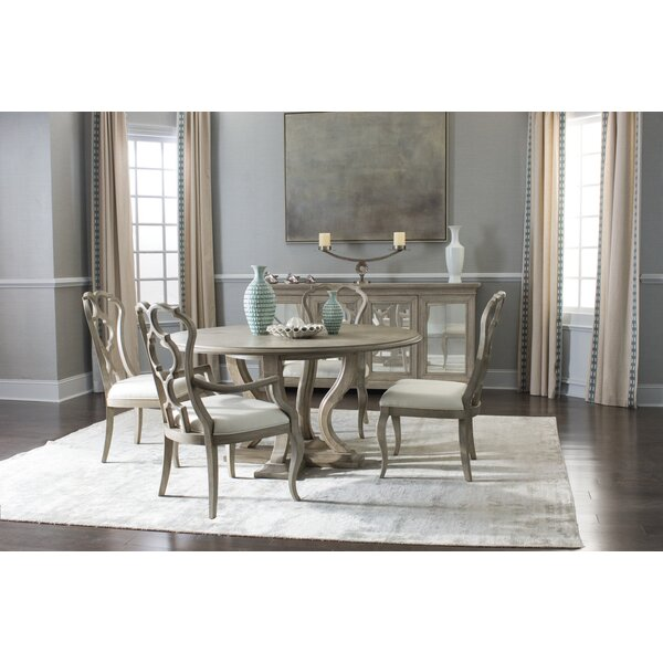 Marquesa 5 Piece Solid Wood Dining Set by Bernhardt