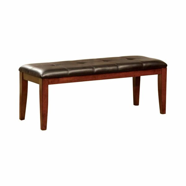 Keisha Faux Leather Bench by Alcott Hill Alcott Hill