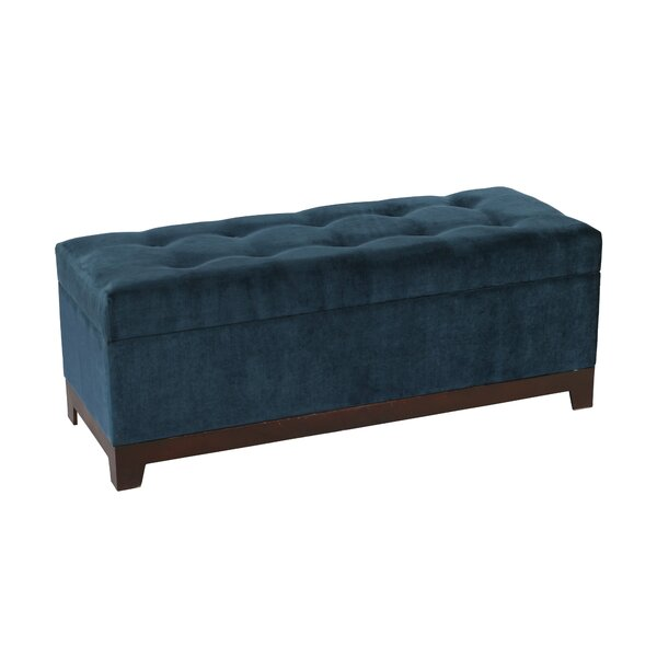 Amburgey Upholstered Storage Bench by Mercer41