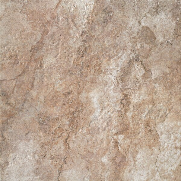 Forge 20 x 20 Porcelain Field Tile in Walnut by Bedrosians