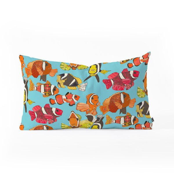 Sharon Turner Clownfish Oblong Lumbar Pillow by East Urban Home