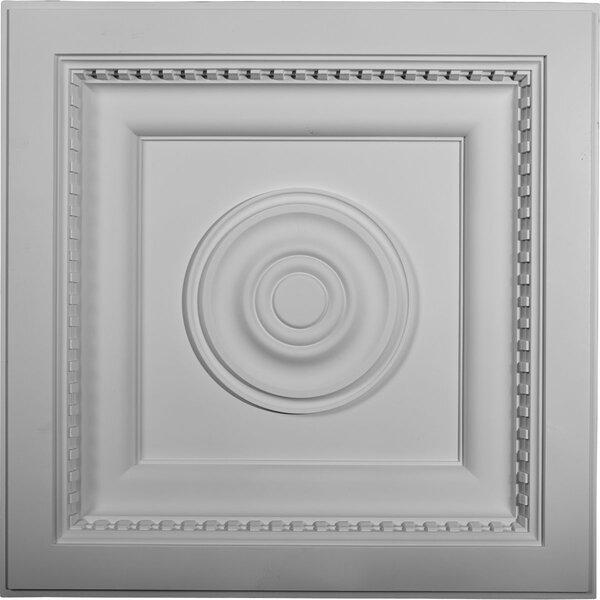 Ashford 23 7/8H x 23 7/8W x 3D Ceiling Tile by Ekena Millwork