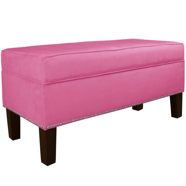 Shiffer Upholstered Storage Bench by Latitude Run