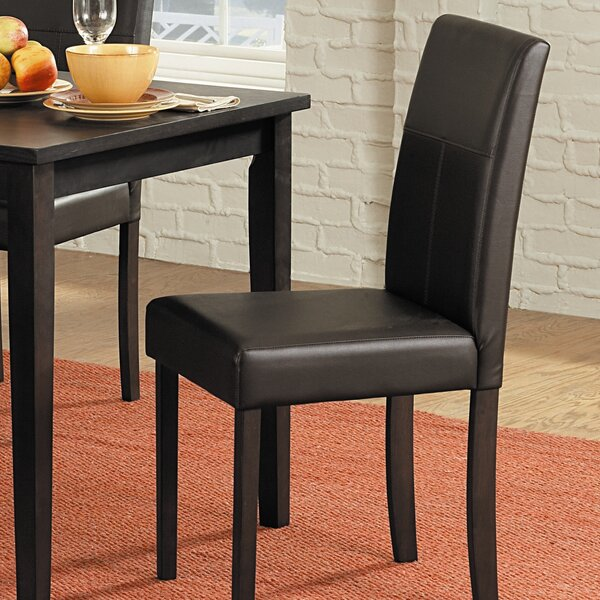 Sonya Upholstered Dining Chair (Set of 4) by Andover Mills Andover Mills