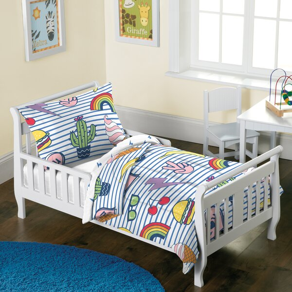 Haskins 2 Piece Toddler Bedding Set by Zoomie Kids