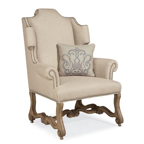 Errol Wingback Chair by One Allium Way