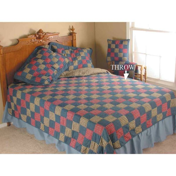 Homestead Throw Quilt by Patch Magic