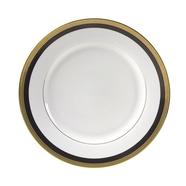 Sahara Black 10.625 Dinner Plate (Set of 6) by Ten Strawberry Street