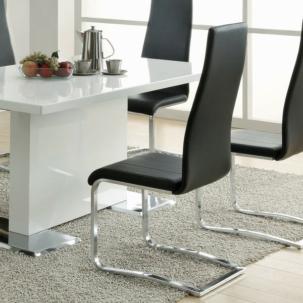 Modern Upholstered Dining Chair (Set of 4) by Infini Furnishings