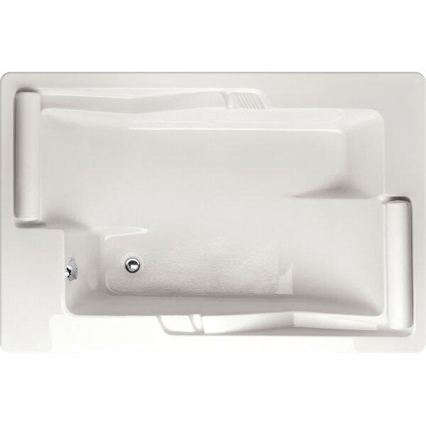 Designer Ashley 72 x 48 Soaking Bathtub by Hydro Systems