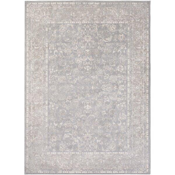 Kimbolton Gray/Ivory Area Rug by Ophelia & Co.