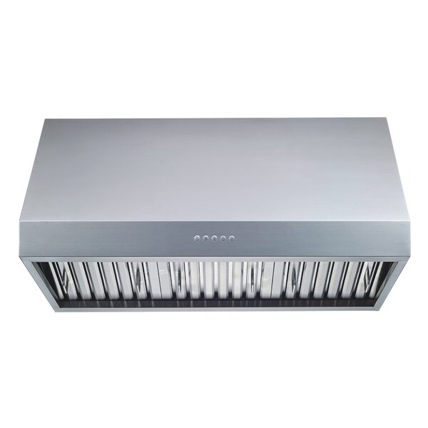 36 Professional 1000 CFM Ducted Under Cabinet Range Hood by Winflo