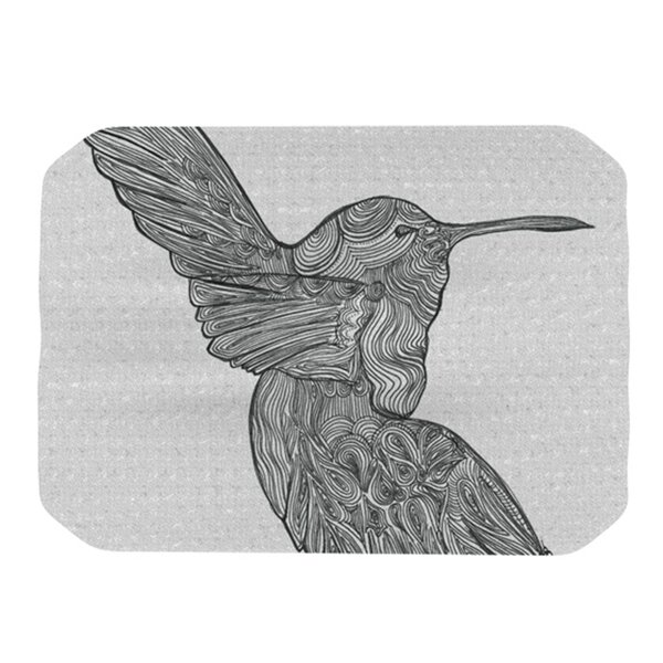 Hummingbird Placemat by KESS InHouse