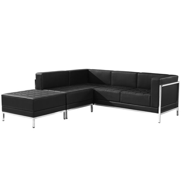 Titania Modular Sectional With Ottoman By Orren Ellis
