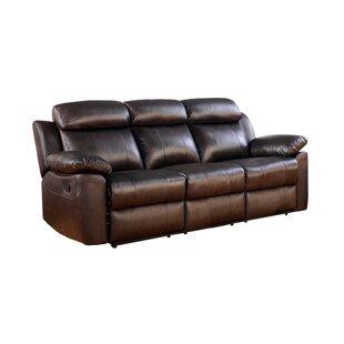 Bima Leather Reclining Sofa