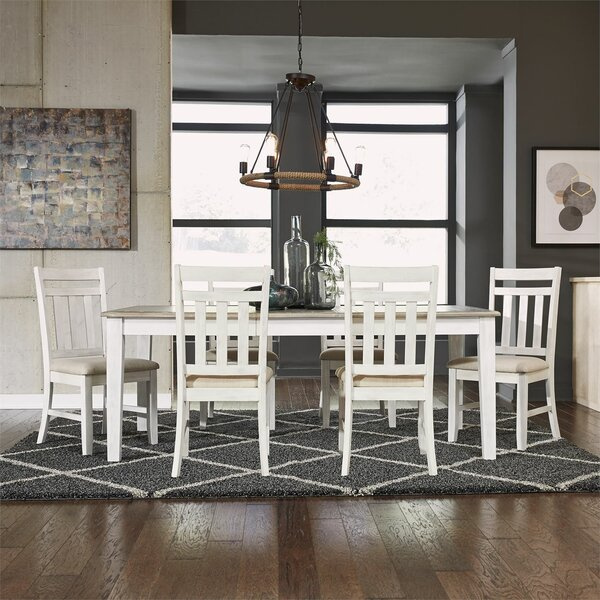 7 Piece Extendable Dining Set by Breakwater Bay