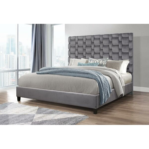 Morell Ivy Bronx Upholstered Standard Bed by Ivy Bronx