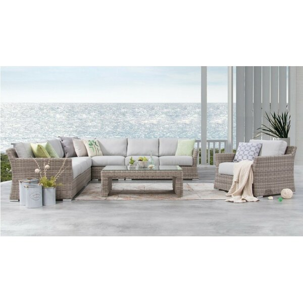 Searle 7 Piece Sectional Seating Group with Cushions by Ivy Bronx