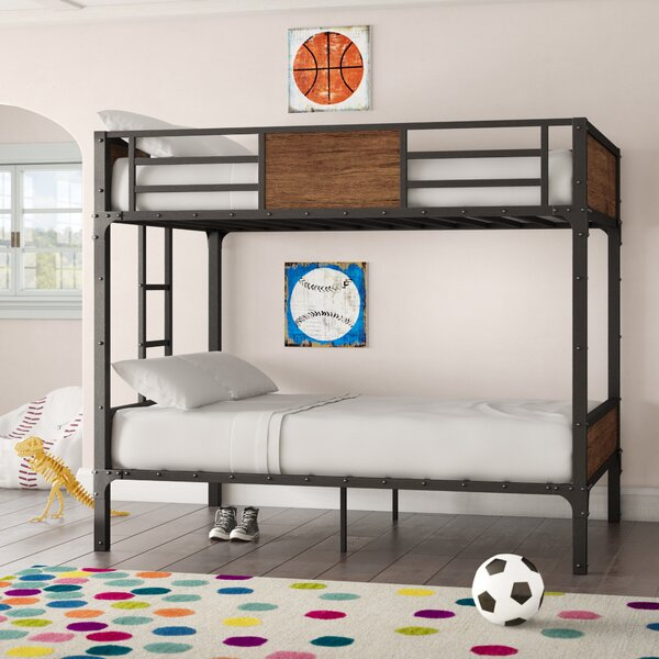 Sousanna Full Over Full Bunk Bed by Harriet Bee