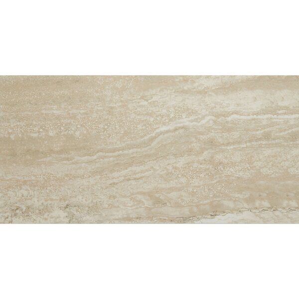 Aguirre 12 x 24 Porcelain Field Tile in Dorato by Itona Tile