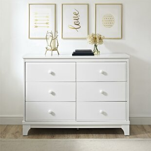 Tutalo 6 Drawer Double Dresser by Mack & Milo