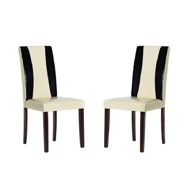 Savana Upholstered Dining Chair (Set of 4) by Warehouse of Tiffany