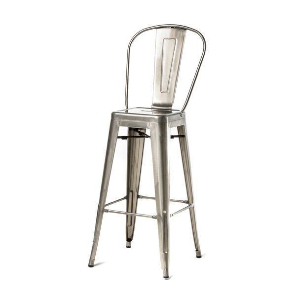 Varvara 30 Bar Stool (Set of 4) by 17 Stories
