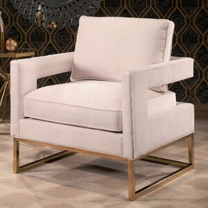 Clapham Velvet Arm Chair Mercer41