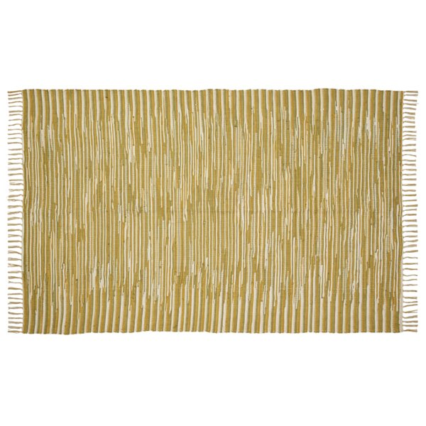 Shaila Yellow Area Rug by Bloomsbury Market