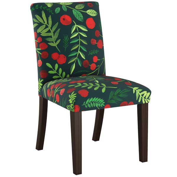 Blum Upholstered Parsons Chair by Bungalow Rose Bungalow Rose