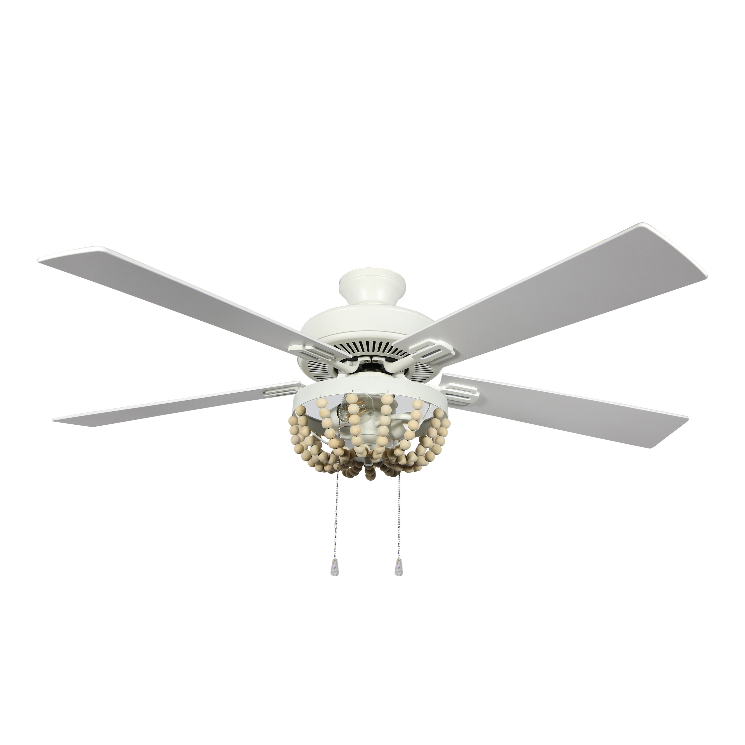 52 Anshul 5 Blade Standard Ceiling Fan With Pull Chain And Light Kit Included Reviews Joss Main