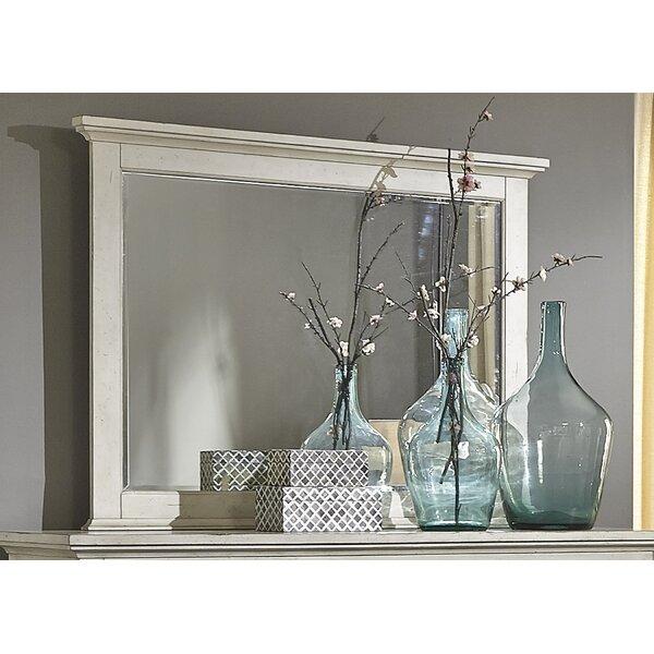 Philomena Rectangle Landscape Wall Mirror by Lark Manor