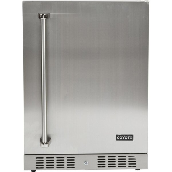 24.7-inch 5.5 cu. ft. Undercounter Compact Refrigerator by Coyote Grills