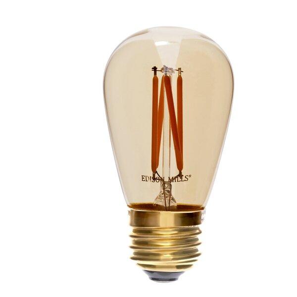 40W E26 LED Vintage Filament Light Bulb by Edison Mills