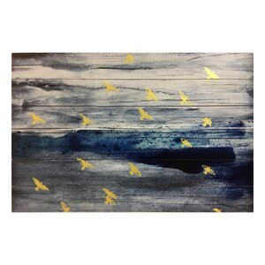 Mares De Ayer Painting Print on Plaque by Mercer41