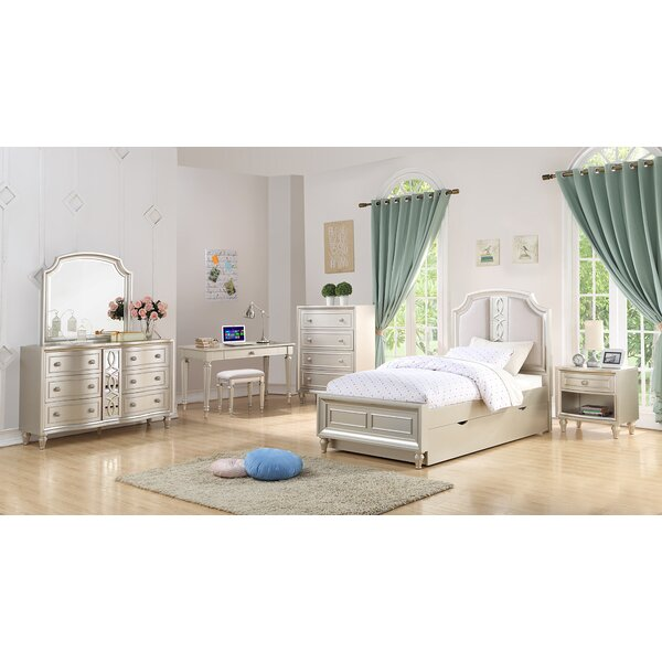 Skeffingt Platform Configurable Bedroom Set by Grovelane Teen