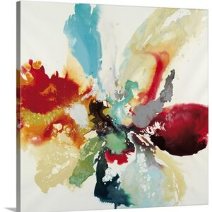 'Color Expression' by Randy Hibberd Painting Print on Canvas by Great Big Canvas
