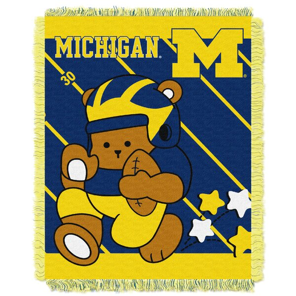 Collegiate Michigan Baby Throw by Northwest Co.