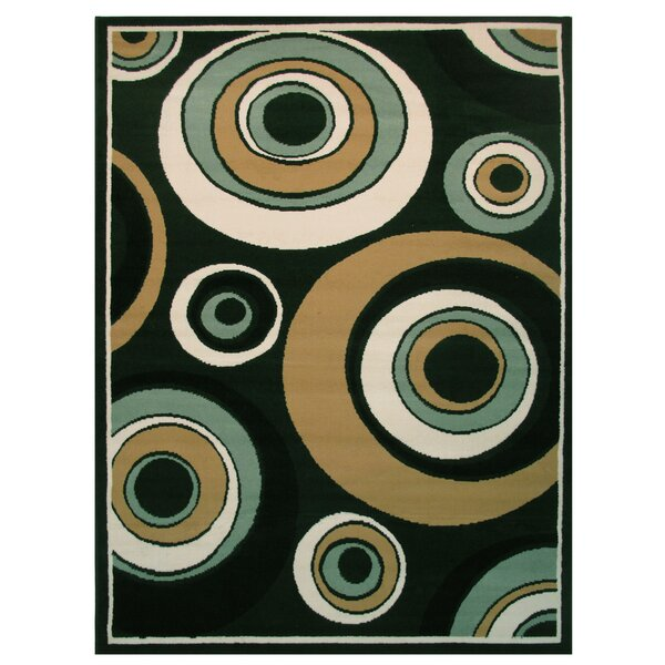 Olympic Green Area Rug by L.A. Rugs