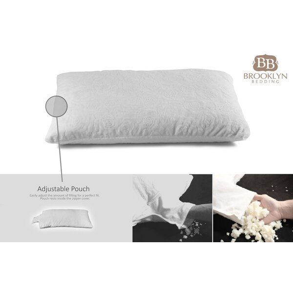 Adjustable Thickness Shredded Talalay Latex Pillow by Alwyn Home