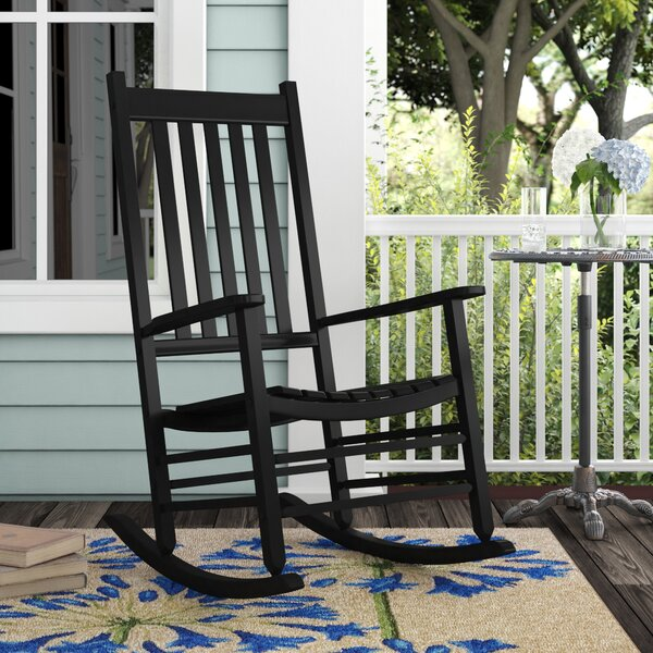 Mahone Porch Rocking Chair By Laurel Foundry Modern Farmhouse