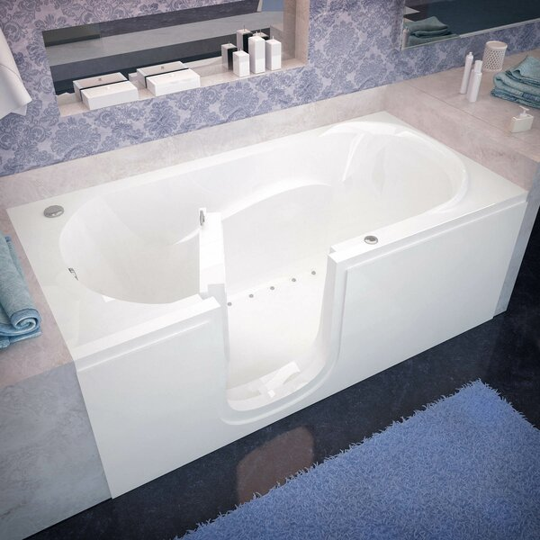Stream 59.6 x 30 Walk In Air/Whirlpool by Therapeutic Tubs