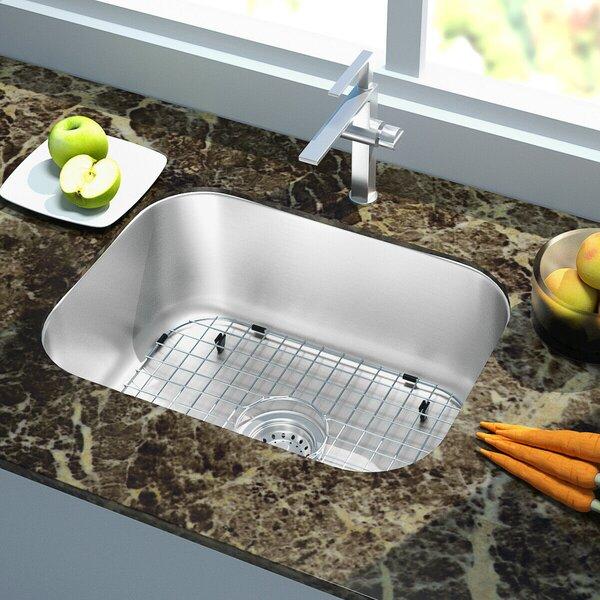 Stainless Steel 18 L x 9 W Undermount Kitchen Sink
