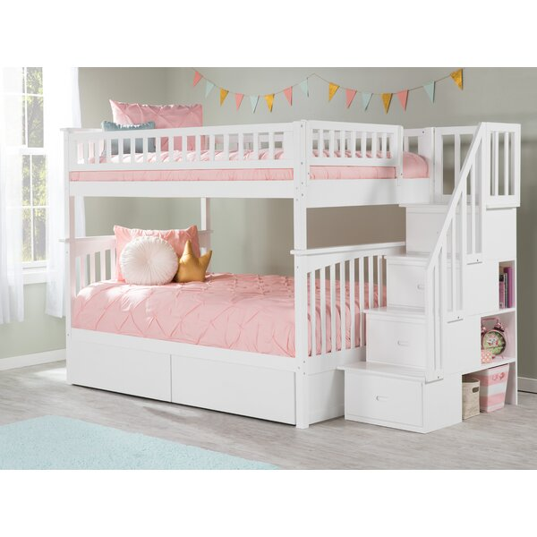 Abel Full Over Full Bunk Bed with Underbed Storage by Harriet Bee