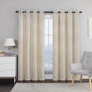 Liviana Grommet Curtain Panels (Set of 2)