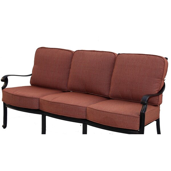 Berenice Patio Sofa with Cushion by Astoria Grand